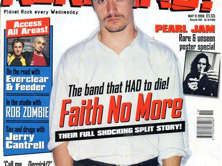 Faith No More | Kerrang! - May 9th 1998