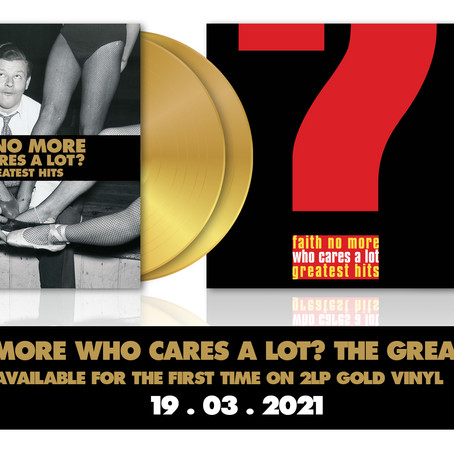 Faith No More 'Who Cares A Lot?' Reissue Out March 19th