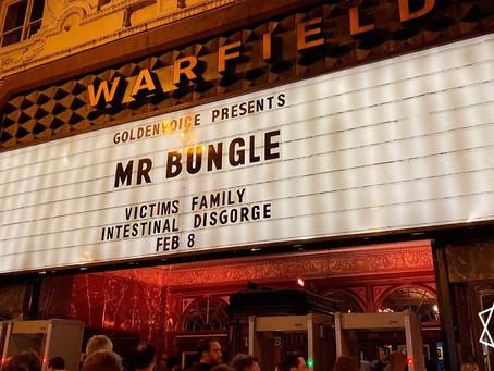 Mr. Bungle | The Warfield, February 8th 2020