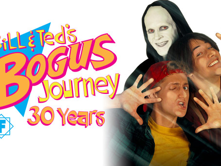 Bill & Ted's Bogus Journey : Music from the Motion Picture Released 30 Years Ago!
