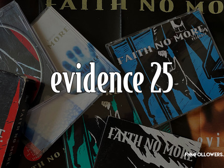 Faith No More Released 'Evidence' As A Single 25 Years ago!
