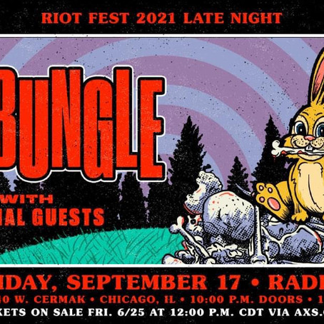 Mr. Bungle Riotfest Aftershow Party - September 17th