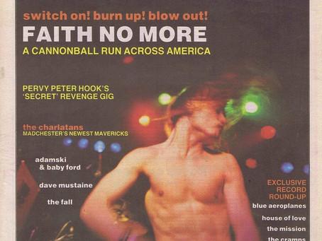Faith No More | Sounds Magazine  - February 3rd 1990