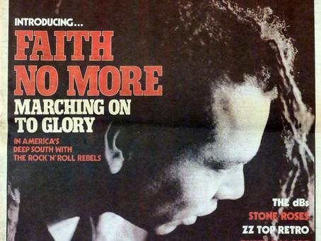 Faith No More  | Sounds Magazine - January 23rd 1988