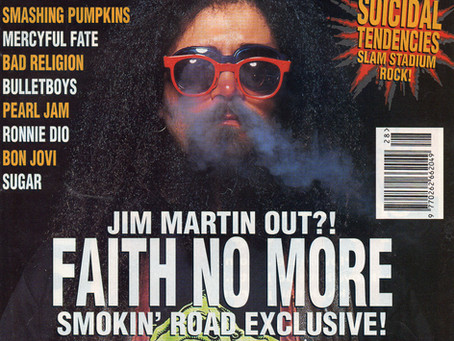 Faith No More | Kerrang! - July 17th 1993