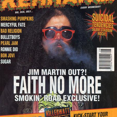 Faith No More | Kerrang! - July 17th 1993