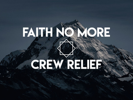 Faith No More Crew relief