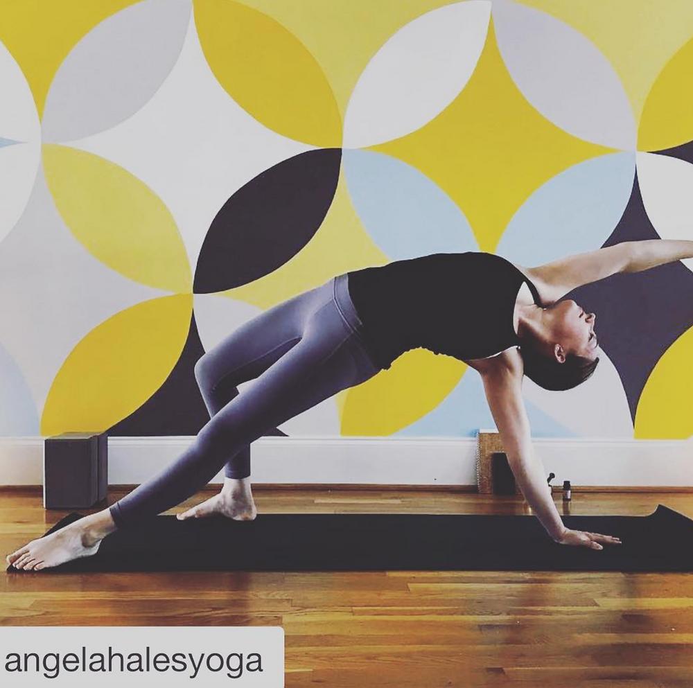 Angela Hales Yoga at Giving Tree Yoga Smyrna Ga