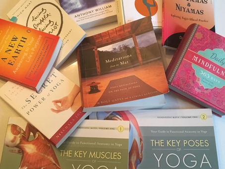 Giving Tree's Recommended Books on Yoga, Meditation, Anatomy, Mindfulness, etc...