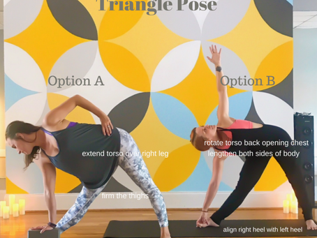 Trikonasana - Triangle Pose