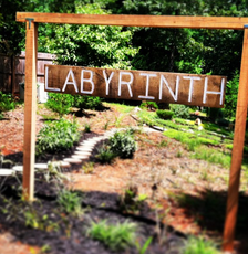 Walking Labyrinth on property grounds