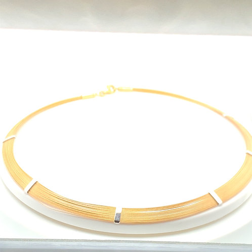 Beautiful 14K 16in Thick Necklace