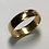 Thumbnail: 14 K Yellow Gold 5.2 mm Art Carved Wedding Band