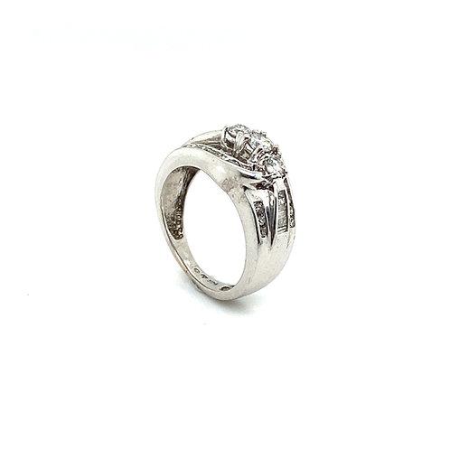 Stunning IGI Certified 0.65 Carats Diamond Engagement Ring