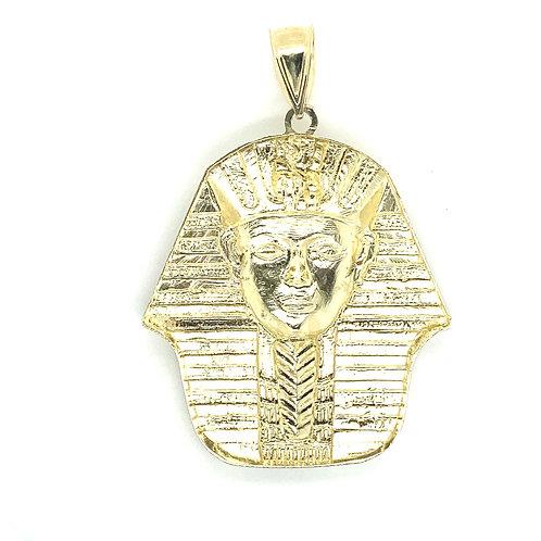 Men's 10K Gold Pharaoh Egyptian Pendant