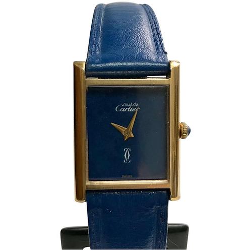 Vintage Ladies Must De Cartier, Mechanical, 18k Gold Electroplate