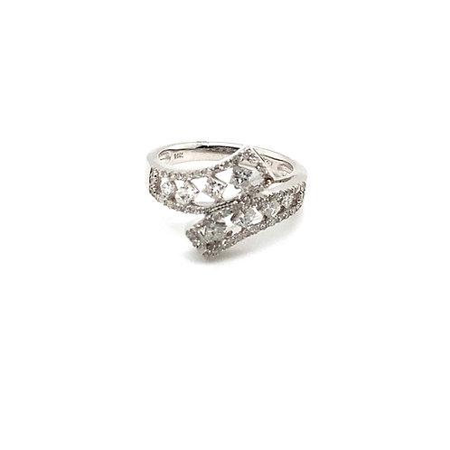 Stunning IGI Certified Diamond and 14K White Gold Ring