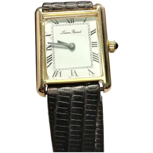Vintage Ladies 14 k Lucien Piccard Watch