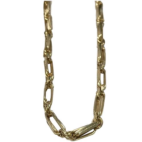 """14K Yellow Gold Figararope Chain 22"""""""