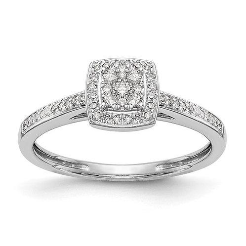 Gorgeous 14k White Gold & Diamond Engagement Ring