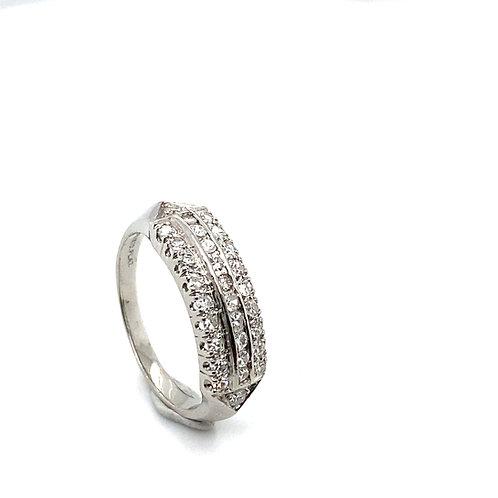 Gorgeous IGI Certified Platinum & Diamond Wedding Ring Band Beautiful Piece!