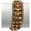 Thumbnail: 18 K yellow Gold Custom Link Wide Bracelet