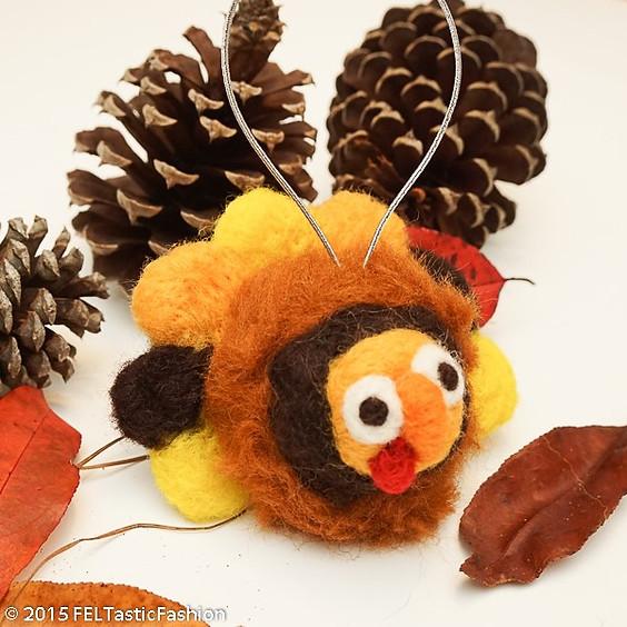WORKSHOP   Thanksgiving Needle Felting