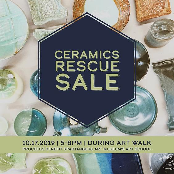 Ceramics Rescue Sale