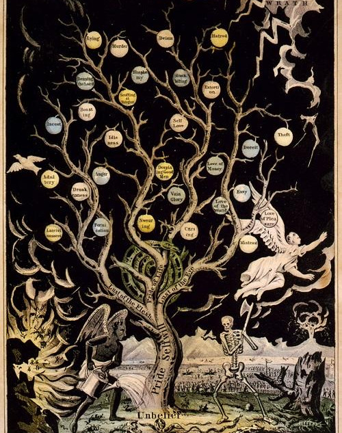 currier + ives  |  tree of death