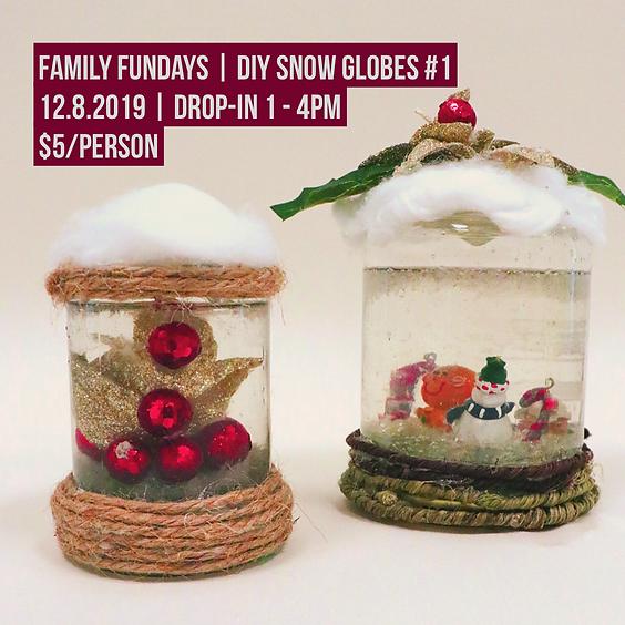 Family Fundays | DIY Snow Globes #1