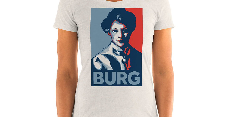 Girl With Red Hair BURG T-shirt | Feminine Fit