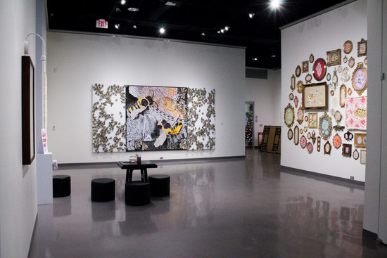 Paper Worlds - installation view