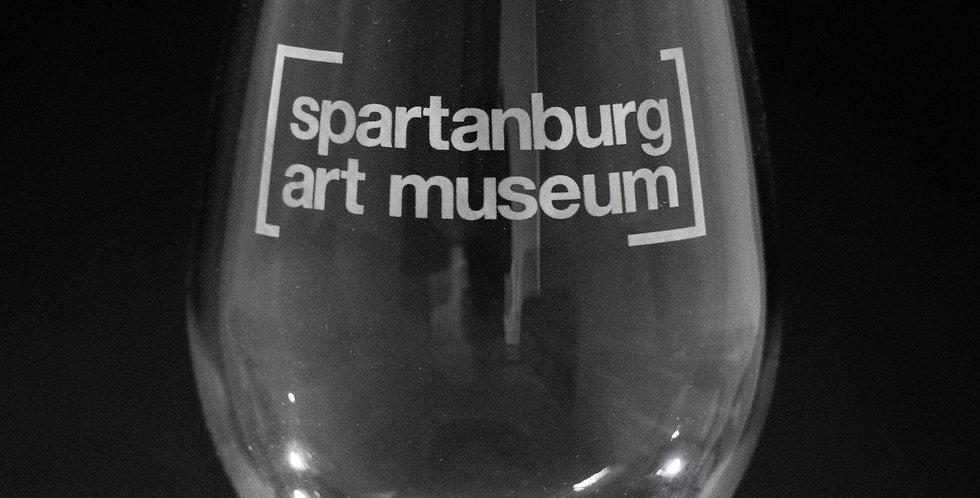 Logo Wine Glasses   Set of 2