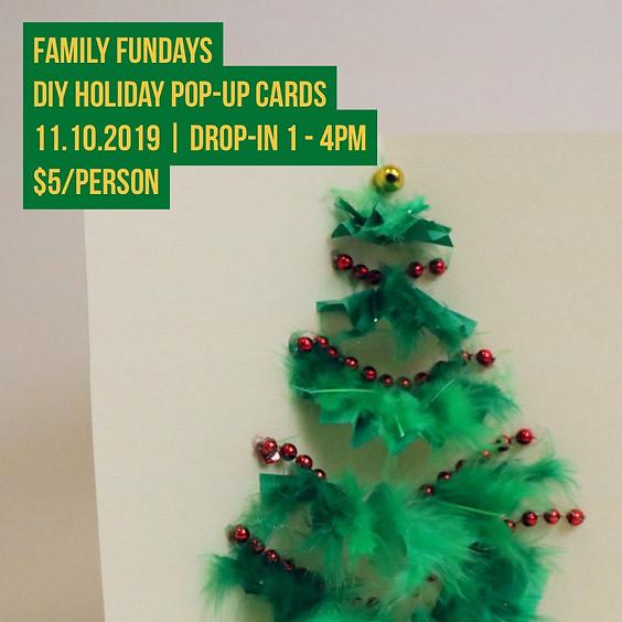 Family Fundays   DIY Holiday Pop-Up Cards
