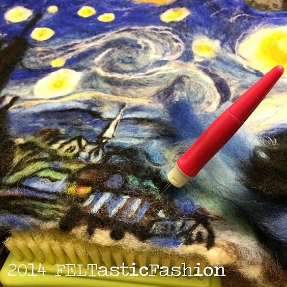Art Workshop | A Valentine Starry Night