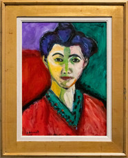 The Green Line (Portrait of Madame Matisse)