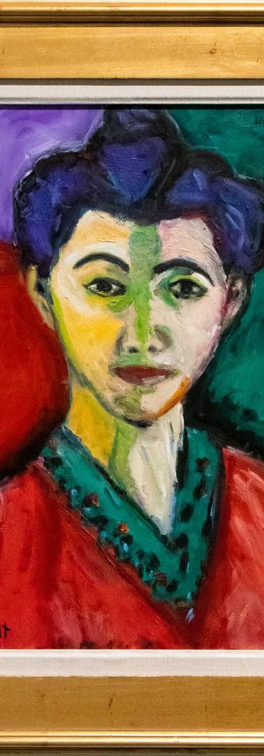 "The Green Line (Portrait of Madame Matisse) by George ""Bucko"" Brandt"