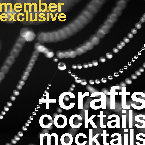 Mocktails, Cocktails, + Crafts | October 14 (Slot 1)