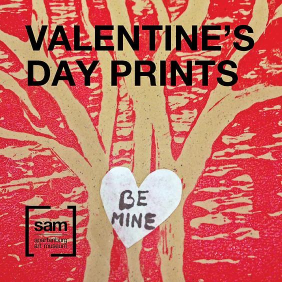 Family Fundays | Valentine's Day Prints