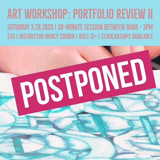 Art Workshop | Portfolio Review II