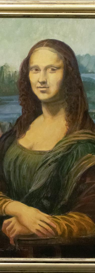 La Gioconda (the Mona Lisa) by Trey Finney