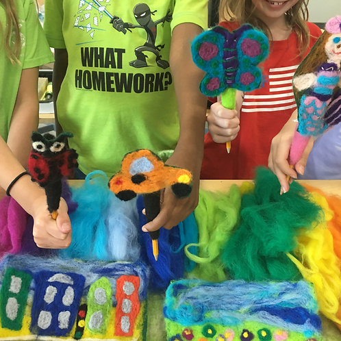 It's A Wooly World Summer Camp [ages 4 - 6]   monday - friday    9 am - 12 pm