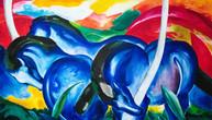 The Large Blue Horses