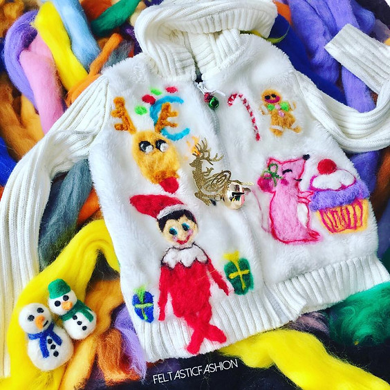 Art Workshop | Ugly Sweater, Christmas Ornament, Hat, or Stocking