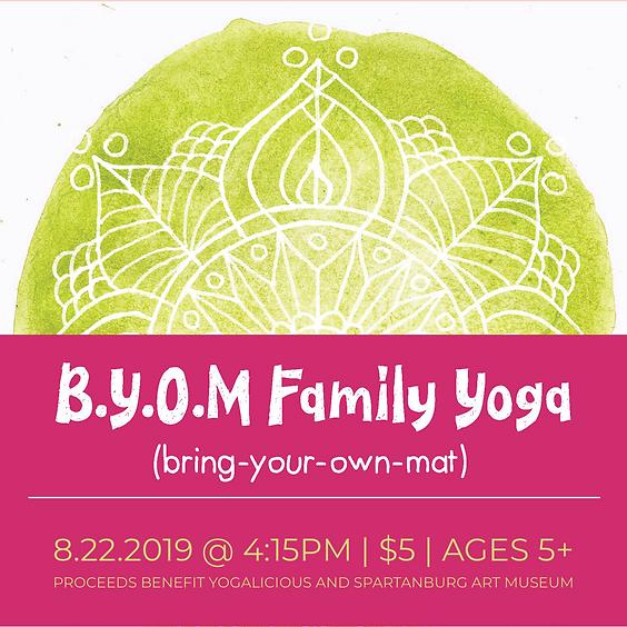 Family Yoga - BYOM - August 22 2019
