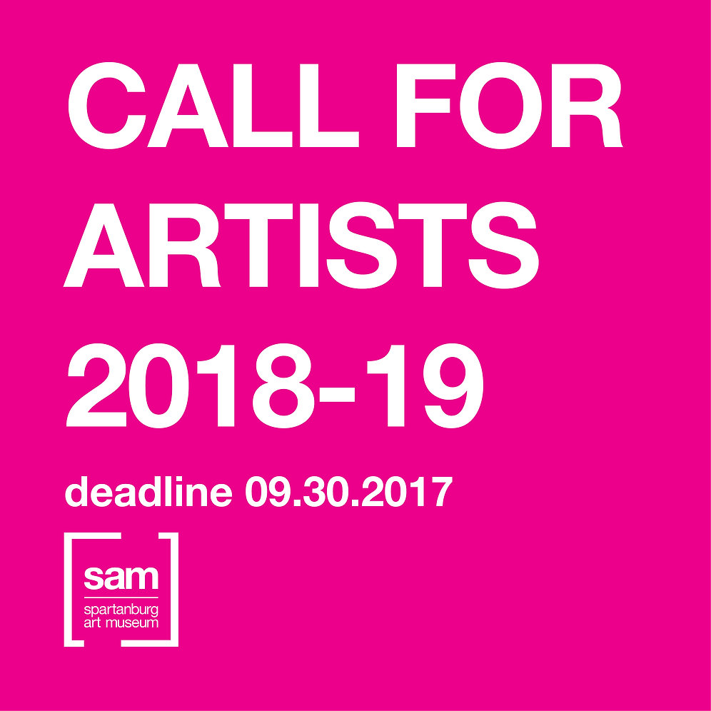 Call for Artists 2018-19 Application | SpartanburgArtMuseum