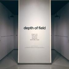 Depth of Field: installation view