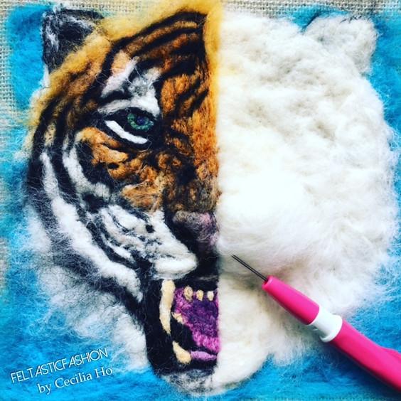 WORKSHOP | Needle Felted Tiger
