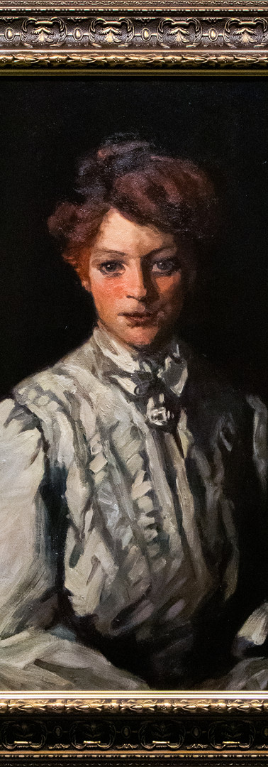 Girl with Red Hair by Kathleen Digney