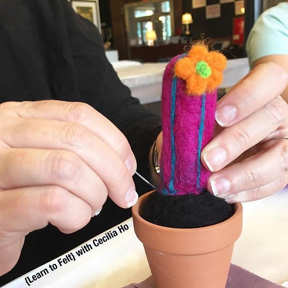 WORKSHOP | Needle Felted Cactus